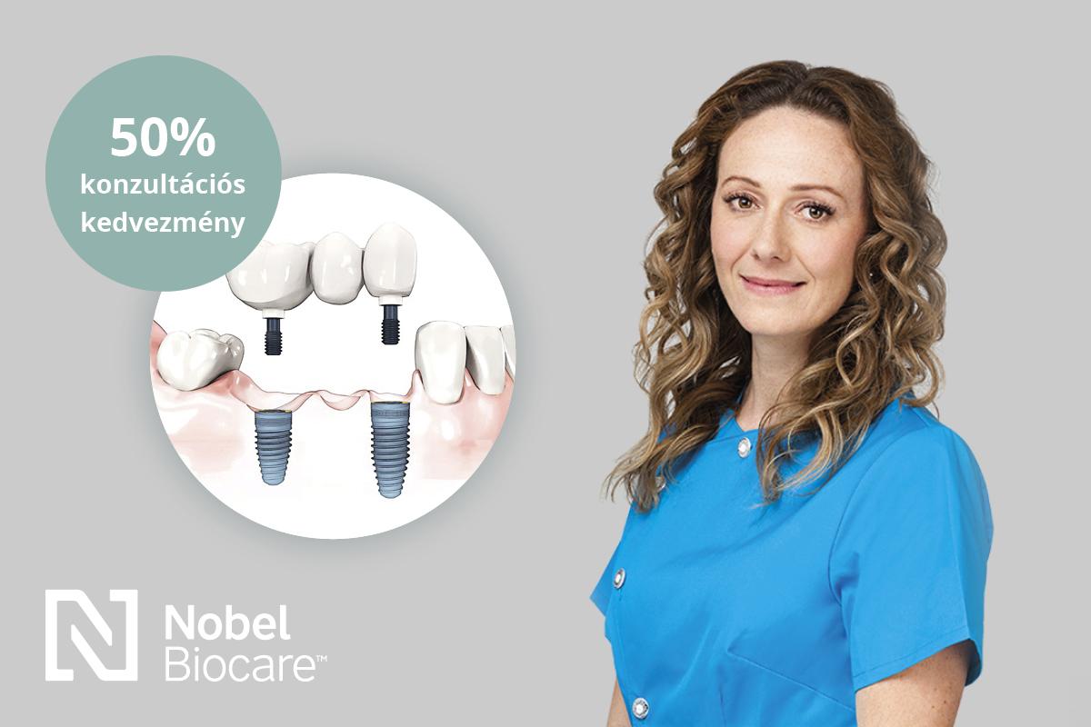 Dr. Németh Viktória konzultációs nap – Bobdent Implantációs Központ